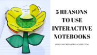 5 Reasons to Use Interactive Student Notebooks in Elementary Spanish Class