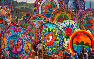 Day of the Dead Celebration in Sumpango, Guatemala