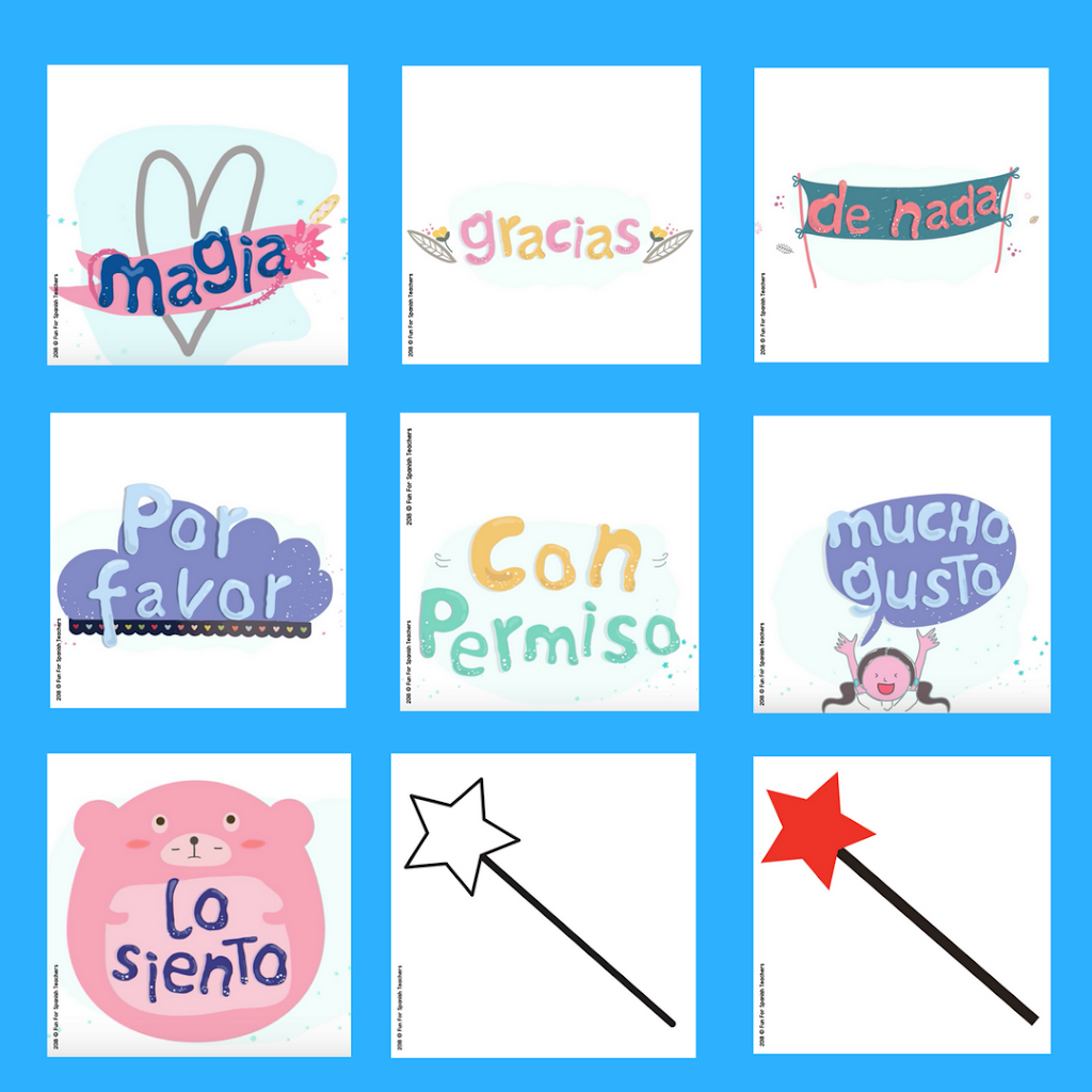 Magic Words in Spanish