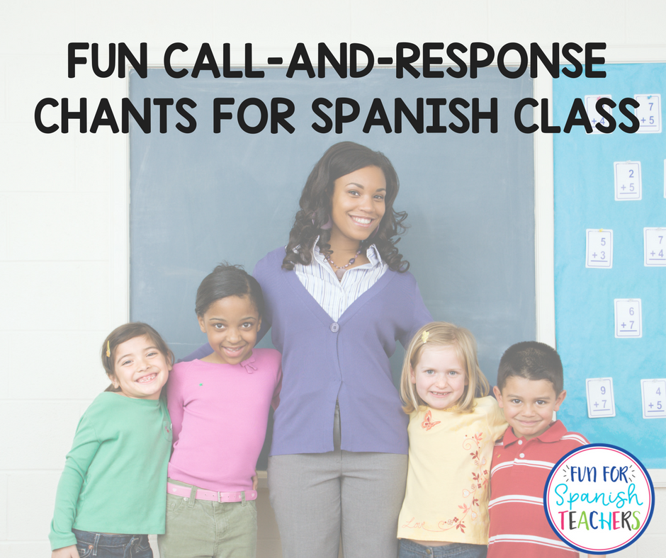 Fun Call-and-Response Chants in Spanish