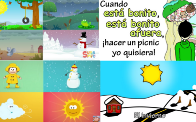 Seasons and Weather Songs for Elementary Spanish