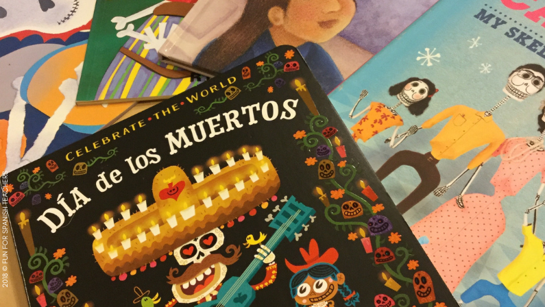 """DAY OF THE DEAD"" BOOKS FOR ELEMENTARY STUDENTS"