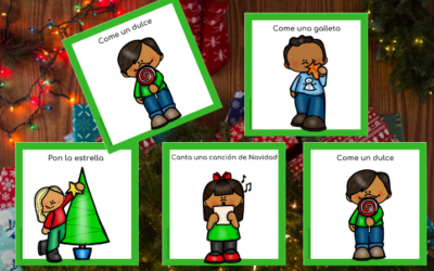 CHRISTMAS MOVEMENT CARDS IN SPANISH