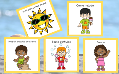 SUMMER MOVEMENT CARDS IN SPANISH