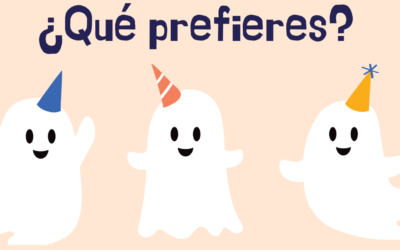 ¿QUÉ PREFIERES? GAME – HALLOWEEN VERSION